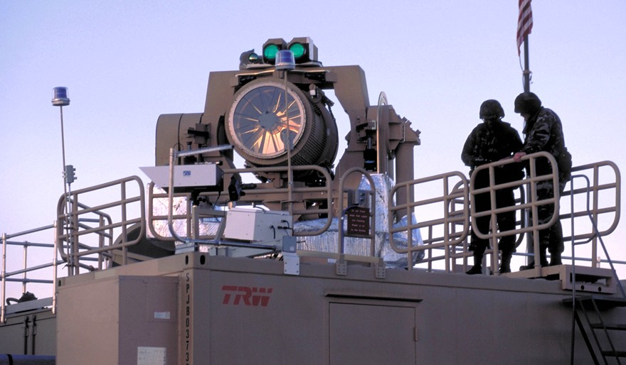 Skyguard - лазерная система противоракетной обороны