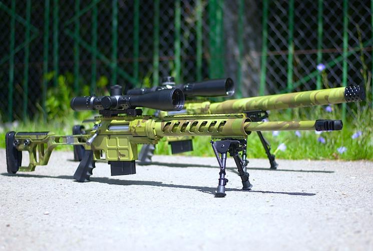 Тактическая снайперская винтовка ДВЛ-10 М2 Урбана