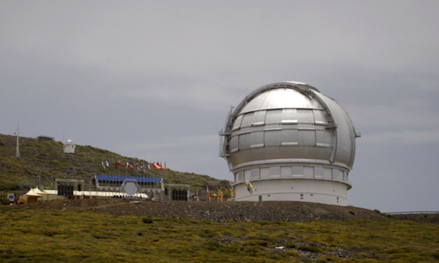 Гигантский телескоп  Оптический телескоп Gran Telescopio Canarias