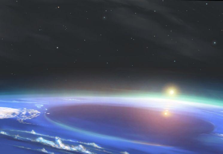 Темные пятна Нептуна