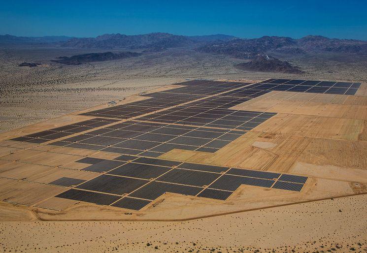 Самая большая солнечная электростанция в мире