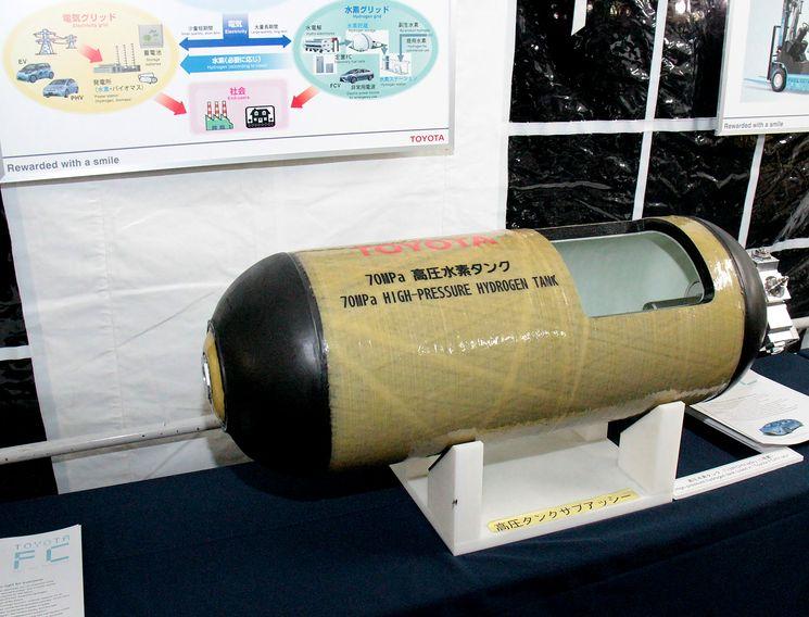 Водородный бак высокого давления для Тойота Мирай