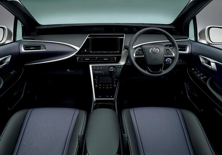 Toyota Mirai фото салона