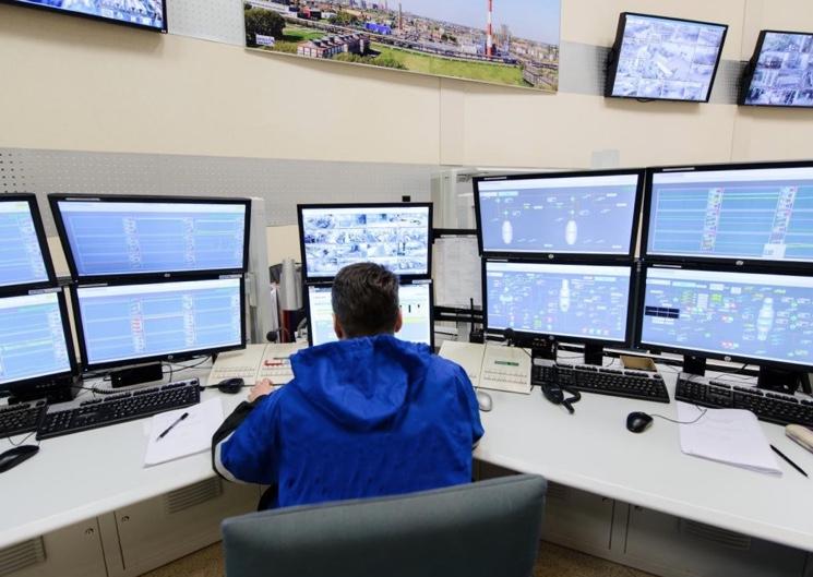 Центр управления добычей нефти