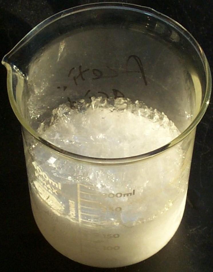 Области применения уксусной кислоты