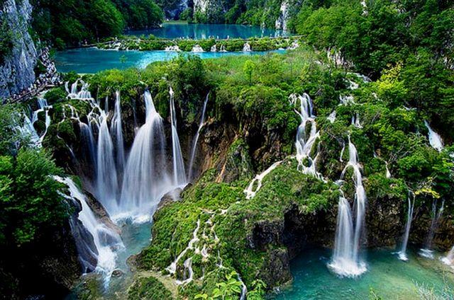Плитвицкие озёра - национальный парк Хорватии