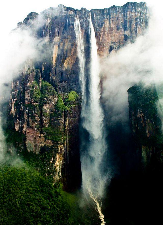 Водопад Анхель - высочайший водопад мира
