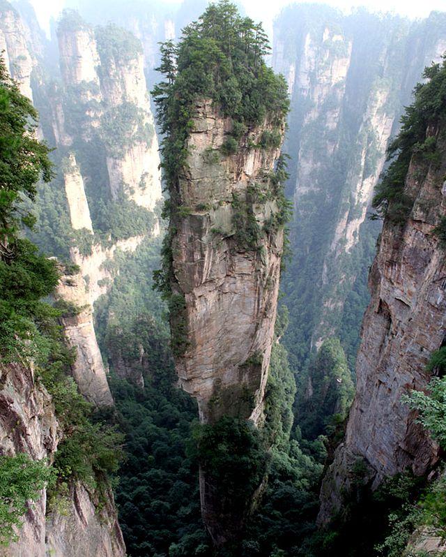 Головокружительные горы Улинюань