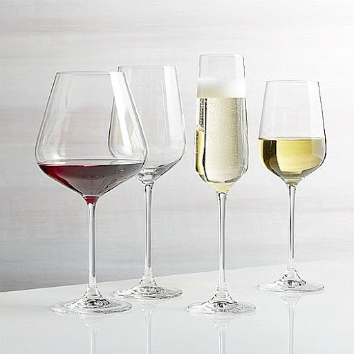 Подбор бокалов для правильной сервировки стола