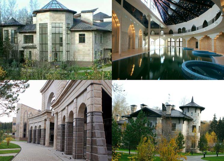 Усадьба Евразия - самый дорогой дом в России
