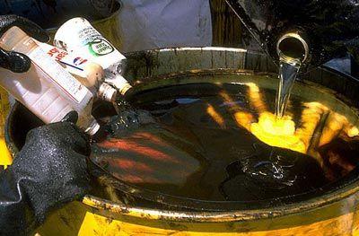 Особенности процесса утилизации масла
