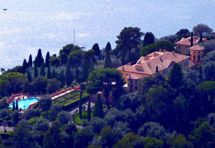Очень дорогая вилла в Ницце - Villa Leopolda