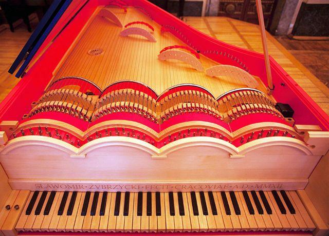 Viola Organista — музыкальное изобретение Леонардо да Винчи