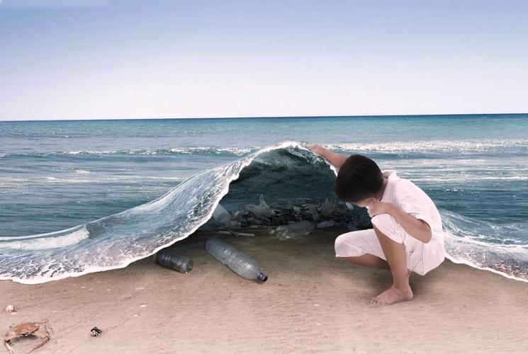 Вред пластика для живых организмов на земле и в океане