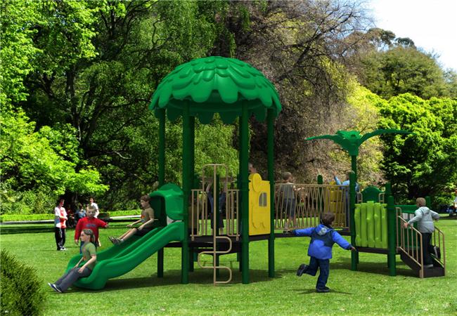Польза детских игровых площадок неоспорима!