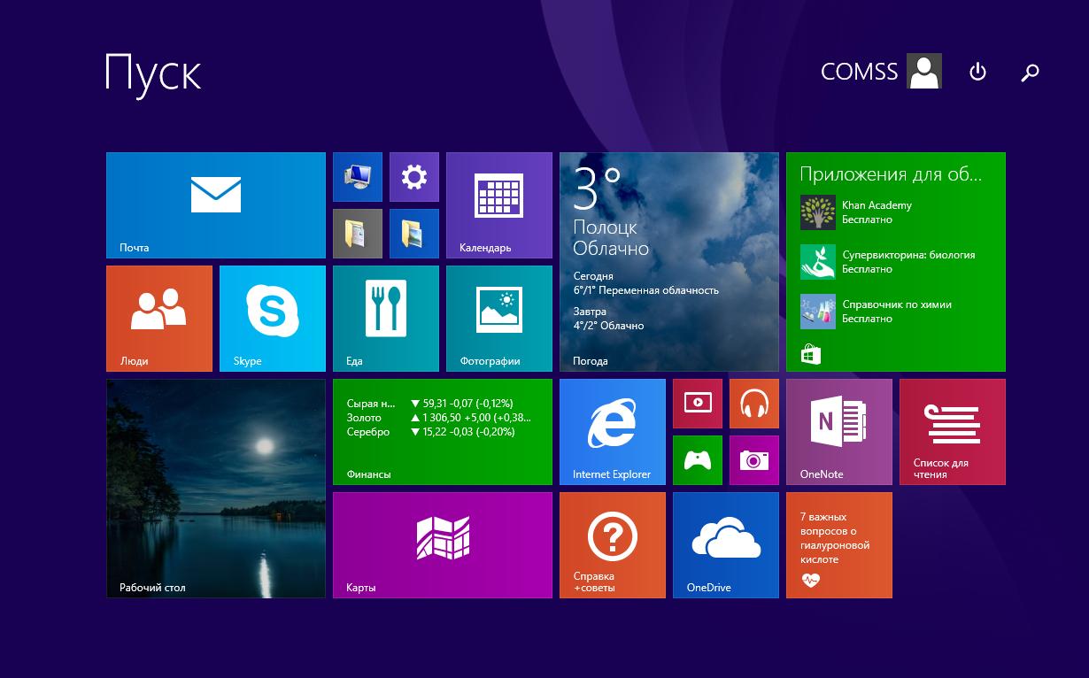 Главные отличия Windows 8 от других «операционок»