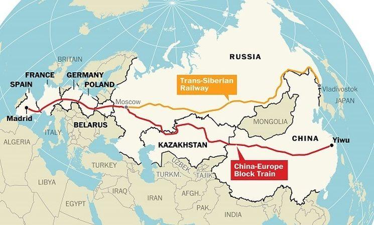 Самая длинная железная дорога в мире