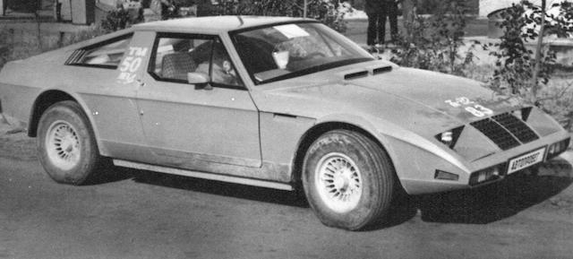 Первая версия автомобиля Юна