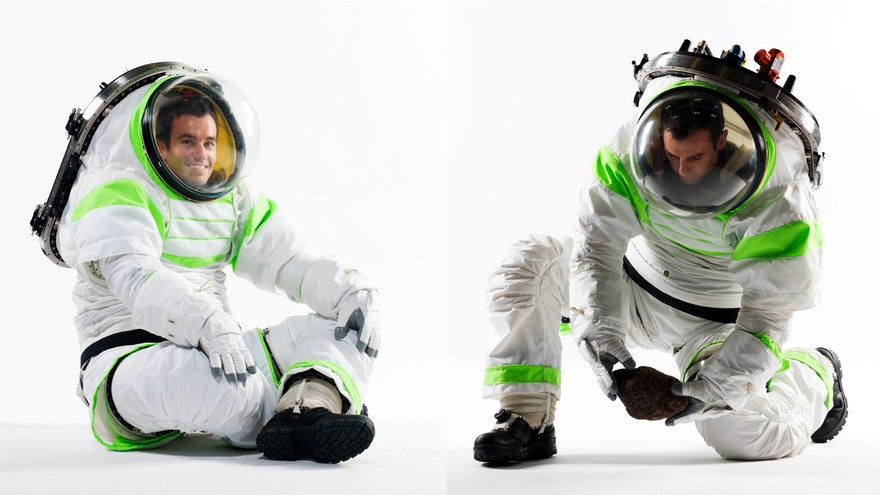 Z1 новое поколение скафандров от НАСА