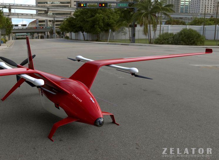 Zelator 28 - грузовой беспилотник для Airbus